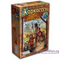 Настольная игра Каркассон: Золотая лихорадка