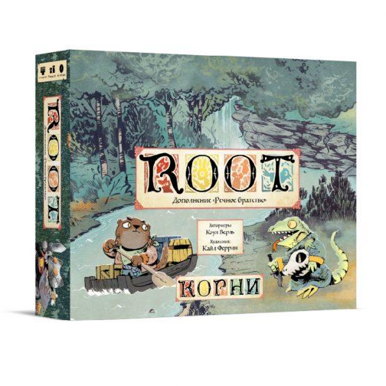 Настольная игра Корни (ROOT): Речное братство (дополнение)
