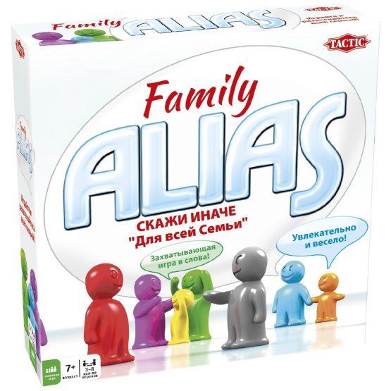 Настольная игра ALIAS Family (Скажи иначе Для всей семьи)