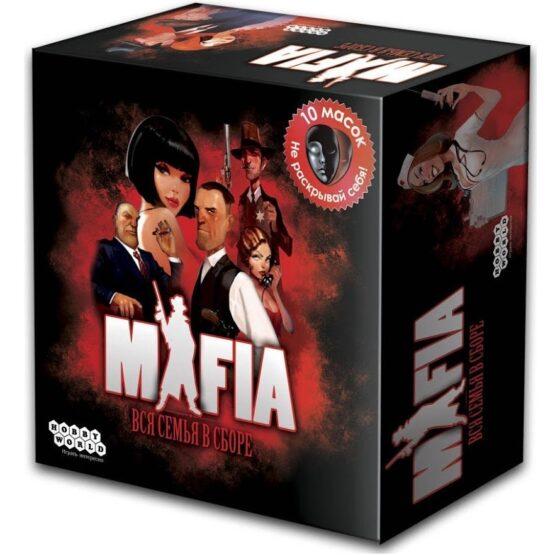 Настольная игра Мафия: Вся семья в сборе (Большая коробка с масками)
