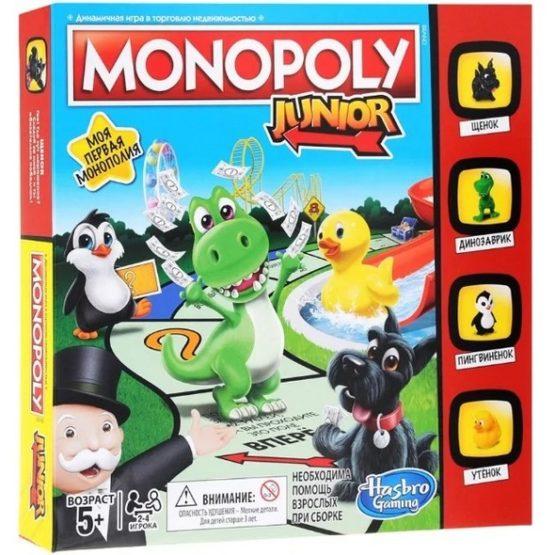 Настольная игра Монополия Джуниор (Monopoly Junior)