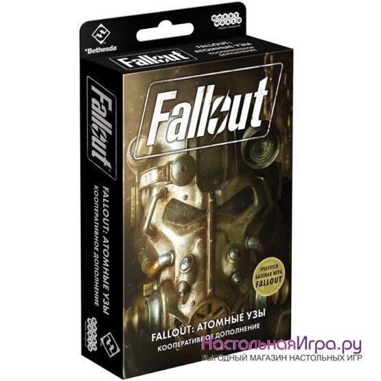 Настольная игра Fallout: Атомные узы (дополнение)